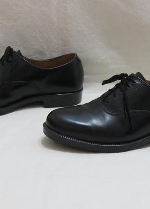 Туфли оксфорды кожаные размер 6 отличное состояние