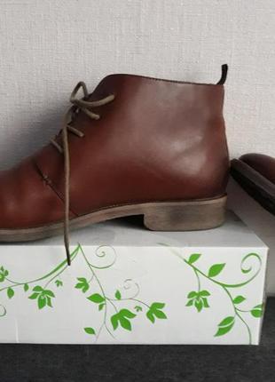 Супер ботинки браска,кожа