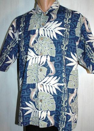 Рыбацкая рубашка, гавайская рубашка