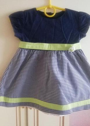 Нарядное платье р. 74