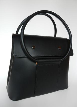Стильная кожаная женская сумка!
