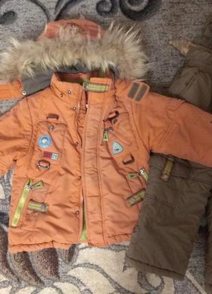 Зимний комбинезон куртка штаны kiko