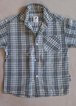 """Классная рубашечка в клеточку рост 116 """"palomino"""""""