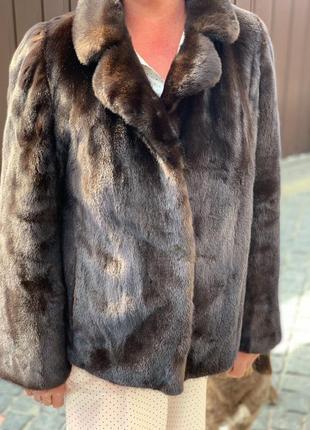 Норковая шуба оригинальная  blackglama. блэкглама. легендарная норка.1 фото