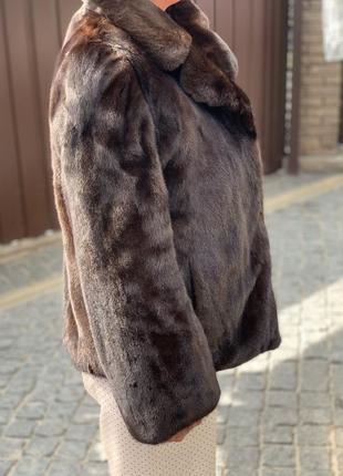 Норковая шуба оригинальная  blackglama. блэкглама. легендарная норка.2 фото