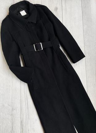 Шерстяное пальто gianfranco ferre