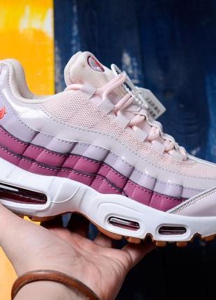 "Кроссовки nike air max 95 ""pink/violet"""