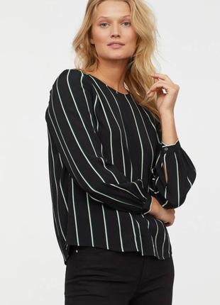 Блуза в полоску h&m, 36