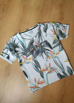 Плотная  футболка от only