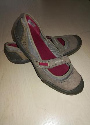Туфли мокасины merrell