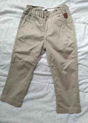 Фирменные котоновые брюки штаны losano на 2 года 98 см
