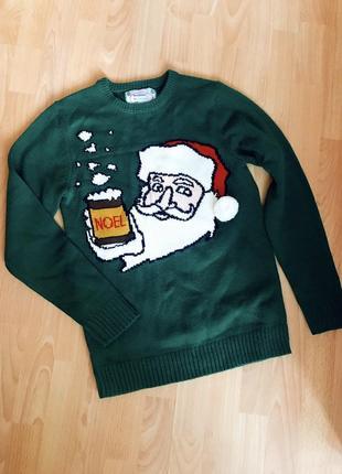 Новогодний свитер от new look