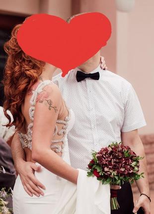 Шикарное свадебное платье crystal design. 8000 грн.3 фото