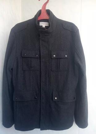 Пальто calvin klein s размер