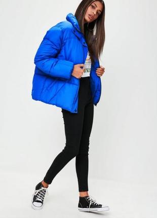 Куртка пуфер оверсайз от missguided.