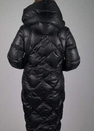 Зимний дутый теплющий пуховик maddis3 фото