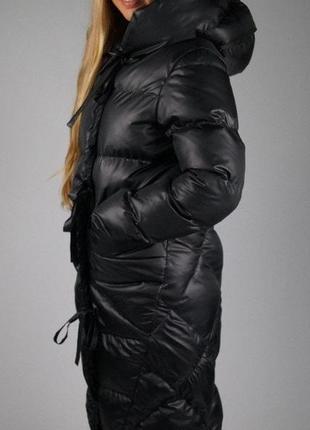 Зимний дутый теплющий пуховик maddis2 фото