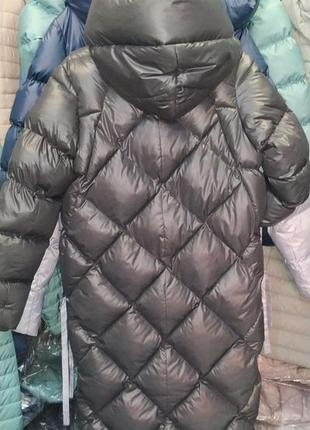Зимний дутый теплющий пуховик maddis5 фото