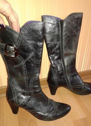 Ботинки кожаные весно-осень сarlo pazolini