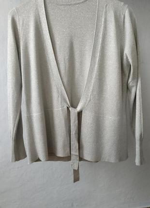 Комплект из свитерочка с коротким рукавом и кофточка
