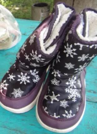 ❤сапожечки зимние для девочки 5-6 лет❤