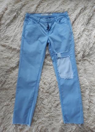 Крутые рваные джинсы бойфренды  момы denim co
