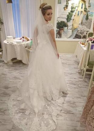 Свадибное платье