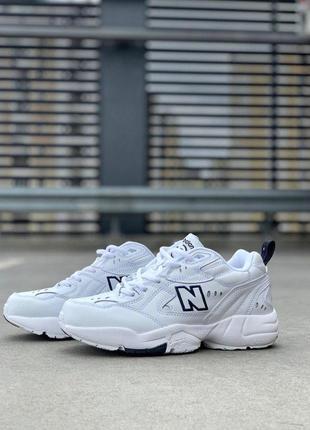 Крутые кроссовки new balance 608 в белом цвете (весна-лето-осень)😍9 фото