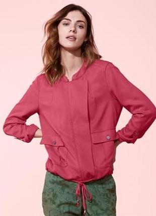 Женская лёгкая куртка блузон р. евро 42 xl германия tcm tchibo