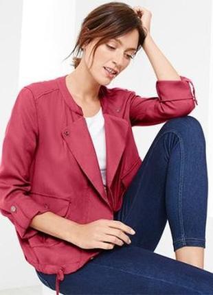 Женская лёгкая куртка блузон р. евро 42 xl германия tcm tchibo5 фото