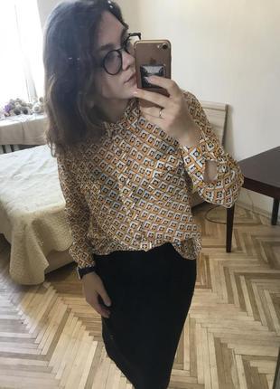 Блуза с длинными рукавами от next