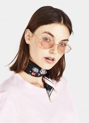 Трендовый платок повязка для волос с цветочным принтом bershka