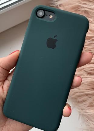 Чехол на айфон apple silicone case для iphone