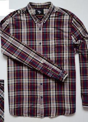 Мужская рубашка xl в клетку