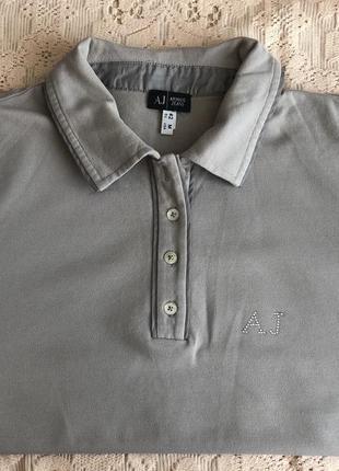 Armani jeans polo футболка