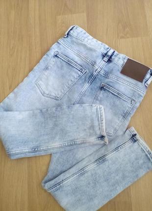 H&m стильные светлые джинсы 6/7 лет р122