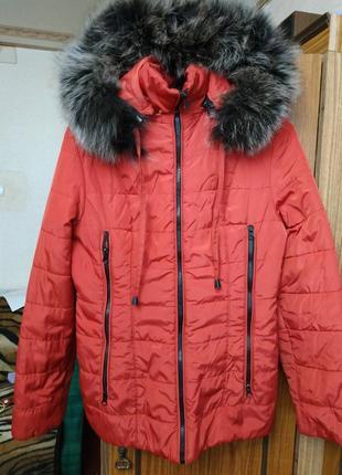 Куртка, парка, зимняя, 42-44, пуховик, вещи
