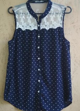 Женская блузка горох colin`s 214