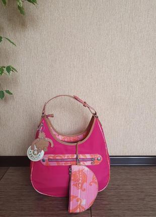 Яркая, стильная, качественная сумка с внутренним кошельком kipling, оригинал