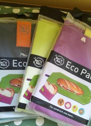 Эко-конверт для бутербродой и перекусов