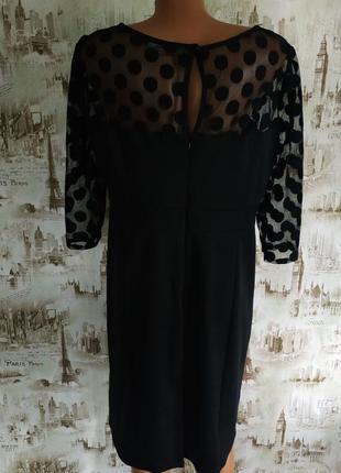 Нарядное,шикарное платье. на бирке-16 р-р(50).5 фото