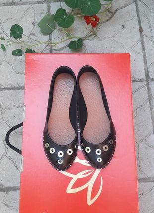 Скидка !кожаные туфли