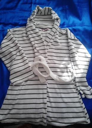 Мягкий женский халат hunkemoller xl/xxl