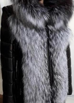 Акция!куртка,жилетка,трансформер,чернобурка,новая!