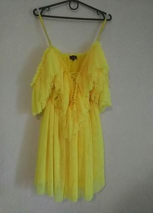 Платье фатиновое