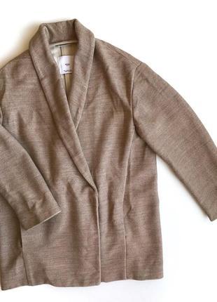 Жакет mango легкое пальто oversize