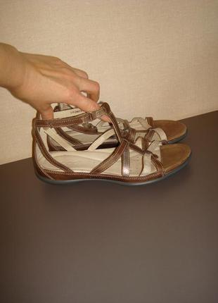 Кожаные босоножки\сандалии ecco , размер 37