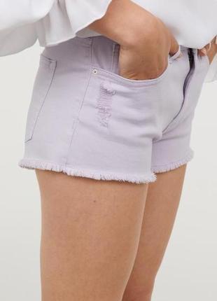 #розвантажуюсь h&m джинсовые шорты 36, xs, s