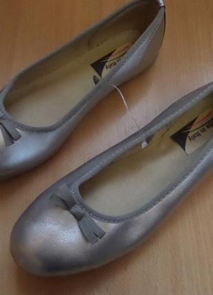Итальянские балетки 37 размера -длина стельки 23,2 см