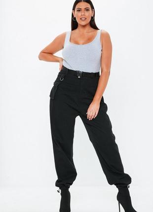 Sale! брюки карго missguided p16-18, на бедра 115-120см+